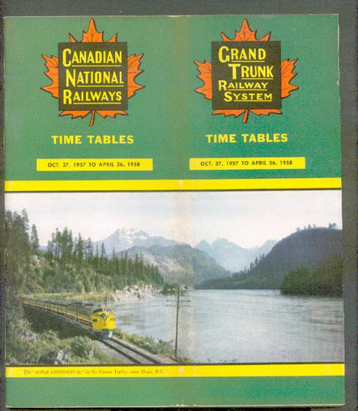Canadian National/Grand Trunk 1957-Oct-27 CNR GT Ry ttp<br /> 267431337_o6ms9