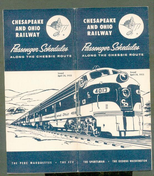C&O 1955-apr-24 Chesapeake & Ohio system ptt<br /> 267430793_zGh2M