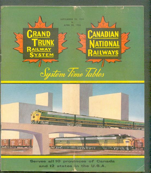 Canadian National/Grand Trunk 1955-Sep-25 CNR GT Ry ttp<br /> 267431072_GRXsr