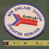 AMTRAK NE Division OPERATION REDBLOCK patch<br /> 269345872_jTDYV