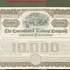 CONSOLIDATED RAILWAY Co $10,000 BOND trolley vignette<br /> 269345536_gJRre