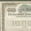 CONSOLIDATED RAILWAY Co $10,000 BOND trolley vignette<br /> 269345561_xVCqi