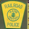 Maine Central Railroad Police Shoulder Patch<br /> <br /> 269345647_pQcca