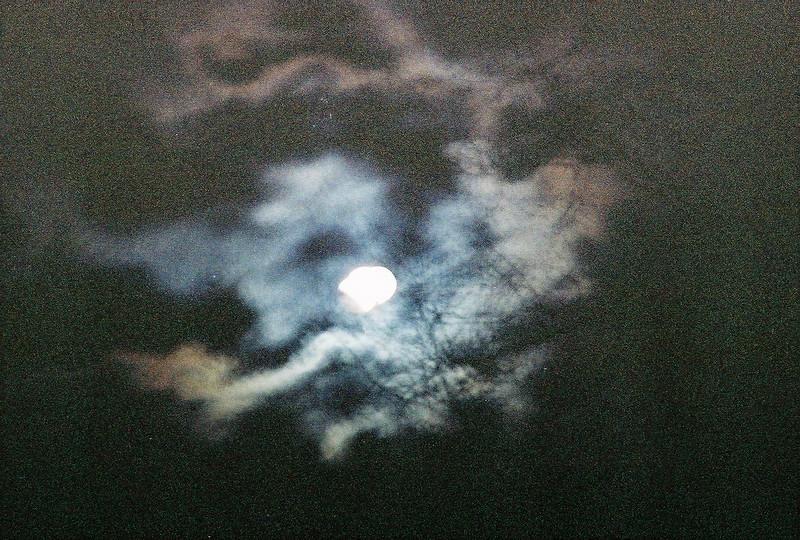 Lunar eclipse<br /> 2-20-08