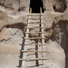 Ladder in Bandelier National Monument