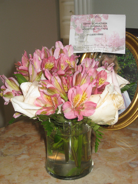 Flowers from the Robeys