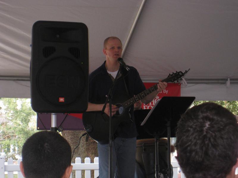 """Scott """"Buzz"""" Krippel performs"""