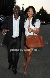 Djimon Hounsou, Kimora Lee Simmons