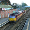 60065 Relaxes on a engineers possession at Hessle Station
