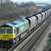 Slightly on the piss! 66598 is seen again with 6R10 1035 Immingham H.I.T. - Ferrybridge P.S. loaded coal working
