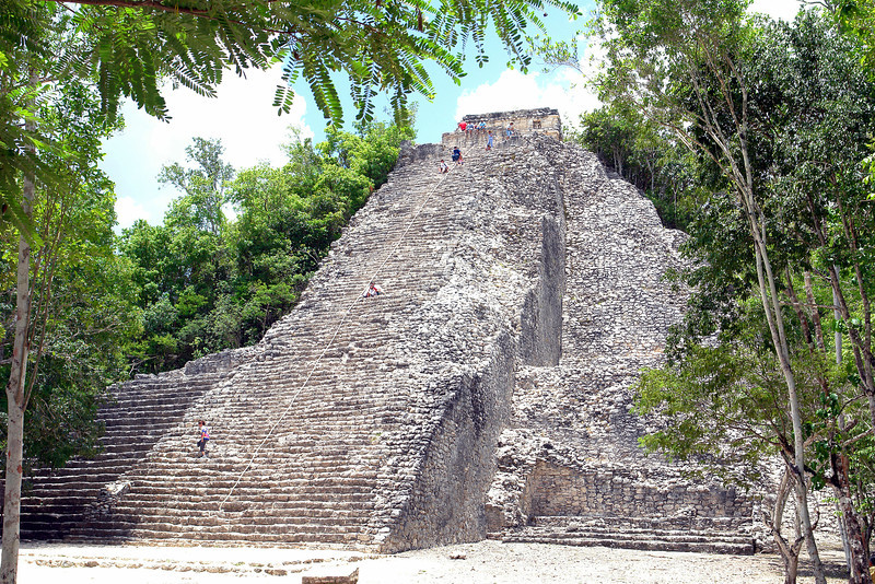 08 - 15 The Nohoch Mul, Coba