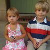 Vivi and Zane visiting Shaker Heights  August 2008