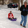 Sledding Time with Grandpa!