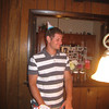 Silly Uncle Rocco celebrating august birthdays in meadville  august 2008