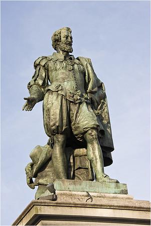 Peter Paul Rubens, Groenplaats, Antwerpen