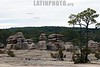 Mexico - Mexiquillo - Durango: Mexiquillo es un parque ecologico . Por su paisaje y entorno natural en este centro turistico se practican deportes de alta montana , pesca, renta de cabana, campamentos. Jardin de Piedras. / Mexiquillo, ecological park. landscape and natural environment. Stone Garden. / Mexiko: Steingarten und Felsformen in Mexiquillo. Landschaft. Tourismus. © Amadeo Velazquez/LATINPHOTO.org