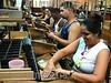 Cuba: Trabajadores en la fabrica de tabaco Corona . Municipio Cerro. / Workers in the cigar factory Corona. / Kuba: Arbeiter in der Zigarrenfabrik Corona. © Agustin Borrego Torres/LATINPHOTO.org
