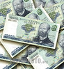 Chile: Banco Central de Chile . papel moneda. billete de banco. Diez mil pesos. / banknote. chilean peso bill. paper money. / 10000er Banknote der Banco Central de Chile. © Nicolas Nadjar/LATINPHOTO.org