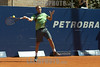 Argentina: El peruano Luis Horna pasa a la segunda ronda al vencer al frances Oliver Patience . / Peru's Luis Horna advances to the second round by defeating french player Oliver Patience at the 2008 Petrobras Cup. / Argentiien: Tennismatch. © Patricio Murphy/LATINPHOTO.org