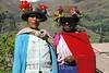Bolivia: mujeres indigenas en la region Huanuco - Huayllay . cara. sombrero. / Bolivia: indian women in the region Huanuco - Huayllay. / Bolivien: Indigene Frauen in der Region von Huanuco - Huayllay. Hut. © Claus Possberg/LATINPHOTO.org