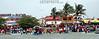 Mexico - Veracruz- Tlacotalpan : Esquina del toro vista desde el rio Papaloapan, donde arrivan los toros despues de cruzar el rio, en las fiestas de la Candelaria . / Bull corner view from the river Papaloapan, where they arrive the bulls after crossing the river, in the celebrations of the Candelaria virgin. / Mexiko: Ankunft der Stiere während des Fests La Candelaria in Tlacotalpan. © Alberto Medina-Chanona/LATINPHOTO.org