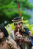 Peru : bailes tipicos ashaninkas en san ramon . folclore. / Ashaninkas Indigenous. / Indigenas vom Stamm der Ashaninka. Flötenspieler. © Daniel Rojas/LATINPHOTO.org