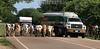 Venezuela : El paso de ganado por las tierras apurenas, Achaguas, estado Apure . Cebus. Camion. / Zebu - Kühe in Achaguas. Buckelrind. Lastwagen. © Juan Carlos Hernandez/LATINPHOTO.org