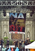 Mexico : Zocalo de la Ciudad de Mexico, en una tarde lluviosa . / Main square of Mexico City, during a rainy evening. / Mexiko: Ein Musikkapelle spielt im Regen in Mexiko Stadt. © Carolina Lopez Llano/LATINPHOTO.org