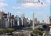 Argentina : Avenida 9 de Julio, con el Obelisco al fondo . / Nueve de Julio Avenue and Obelisk. / Argentinien: Die Avenida 9 de Julio ist eine der Hauptverkehrsadern von Buenos Aires. Sie gilt als Prachtboulevard und mit 140 Metern Breite und 20 Fahrstreifen als die breiteste Strasse der Welt. © Sebastian Hacher/LATINPHOTO.org