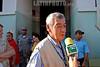 Republica Dominicana : El Jefe de la Mision de Observacion de la Organizacion de Estados Americanos (OEA) Jose Octavio Bordon en su retirada despues de realizar su visita a el colegio electoral Insituto Salome Urena de esta capital, Viernes, Santo Domingo, 16 de Mayo 2008 . / Dominican Republic: Organisation of American States (OAS) Observers mission chief Jose Octavio Bordon in Santo Domingo, Dominican Republic on May 16 2008. / Dominikanische Republik: Wahlbeobachter der OEA in Santo Domingo. © Juan Fach/LATINPHOTO.org