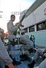 Republica Dominicana : La Policia Nacional ofrece las medidas de seguridad y patrulleo durante el dia de elecciones en todas las urnas electoranes de la ciudad de Santo Domingo y el resto del pais, Santo Domingo, Viernes, 16 de Mayo 2008 . / Dominican Republic: Elections. / Dominikanische Republik: Wahlen in Santo Domingo. © Juan Fach/LATINPHOTO.org