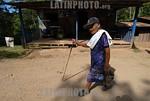Nicaragua - Jinotega (21 .02.2008) Valle de Pantasma. Pantasma es un valle rico en tierras fertiles donde sus principales productos. pensionista. mujer anciana. viejos. / Pantasma is a regio ...