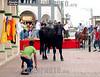 Mexico - Veracruz- Tlacotalpan : Burlando al toro, en las fiestas de la Candelaria . / Deceiving to the bull, in the celebrations of the Candelaria virgin. / Mexiko: Stiere werden während des Fests La Candelaria durch die Strassen von in Tlacotalpan gejagt. © Alberto Medina-Chanona/LATINPHOTO.org