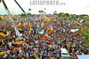 Republica Dominicana : Miles de personas se concentran frente a la tarima en el cierre de campa . / Dominican Republic: Elections. / Dominikanische Republik: Wahlen in Santo Domingo. © Juan Fach/LATINPHOTO.org
