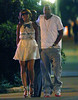 14 July 2009 - Jay-Z adjusts to married life with one arm around his wife and the other down his pants, Jay-Z strolled down a NYC street with Beyonce. Photo Credit Jackson Lee