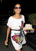 22 July 2009 - Freida Pinto coyly denies trying to hide from being photographed with Dev Patel in NYC. Frieda Pinto and Dev Patel was spotted having dinner in NYC. On their way back to their hotel, the duo spotted the paparazzi. Determined not to get photographed together with Frieda, Dev decides to run out of their SUV a block away from the hotel while Frieda comes back to their hotel alone.. Photo Credit Jackson Lee