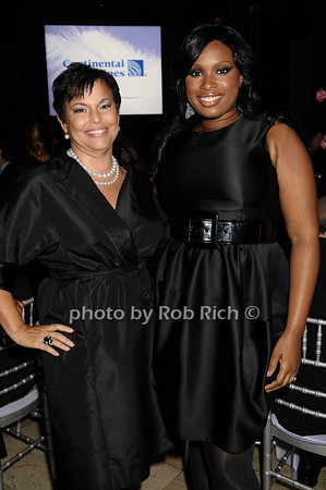 Debra Lee, Jennifer Hudson<br /> photo by Rob Rich © 2009 robwayne1@aol.com 516-676-3939