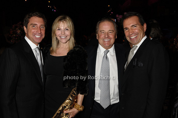 Jeff Rackover, Judy Gilbert, Rod Gilbert, Richie Notar<br /> photo by Rob Rich © 2009 robwayne1@aol.com 516-676-3939