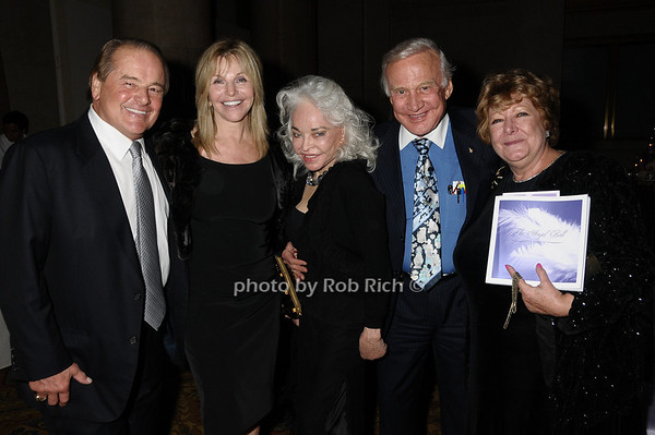 Rod Gilbert, Judy Gilbert, Lois Aldrin, Buzz Aldrin, Catherine Saxton photo by Rob Rich © 2009 robwayne1@aol.com 516-676-3939