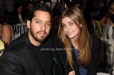 David Blaine, Alizee Guinochet photo by Rob Rich © 2009 robwayne1@aol.com 516-676-3939