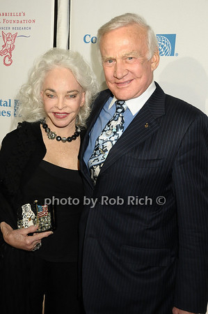 Lois Aldrin, Buzz Aldrin<br /> photo by Rob Rich © 2009 robwayne1@aol.com 516-676-3939