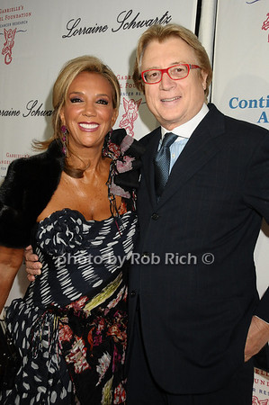 Denise Rich, Peter Cervinka<br /> photo by Rob Rich © 2009 robwayne1@aol.com 516-676-3939