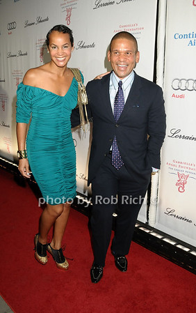 Erica Reid , Benny Medina <br /> photo by Rob Rich © 2009 robwayne1@aol.com 516-676-3939
