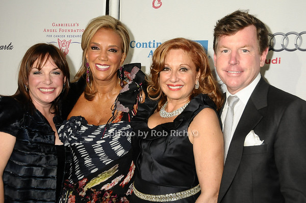 Tricia Quick, Denise Rich, Michele Rella, Tom Quick<br /> photo by Rob Rich © 2009 robwayne1@aol.com 516-676-3939