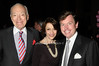 Leonard Lauder, Evelyn Lauder, Tom Quick<br /> photo by Rob Rich © 2009 robwayne1@aol.com 516-676-3939