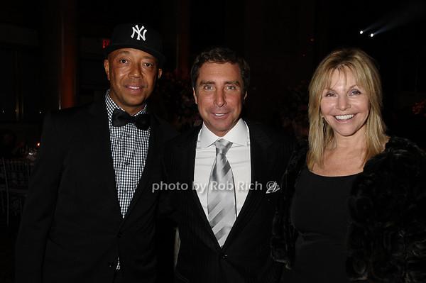 Russell Simmons, Jeff Rackover,  Judy Gilbert<br /> photo by Rob Rich © 2009 robwayne1@aol.com 516-676-3939