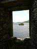 Loch Awe island from Kilchurn Castle