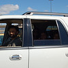 In the SUV in Rapid City airport