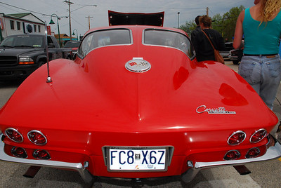'63 Corvette split-window.  2009 Magic Dragon car show Lake of the Ozarks (c) D.L.Jones Photography 2009