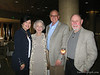 Dave's family:  Denise, Elizabeth (Dave's Mom), Dave, and Leonard (Dave's dad)